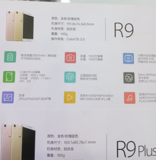 Thiết kế giống iphone của oppo r9