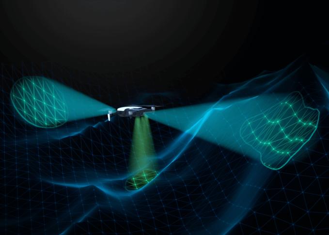 Mavic air drone tầm trung mới của dji với gimbal 3 trục và những công nghệ ấn tượng