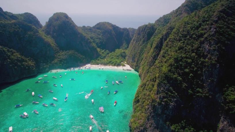 Thái lan tuyên bố đóng cửa vô thời hạn vịnh maya do bị ô nhiễm nghiêm trọng