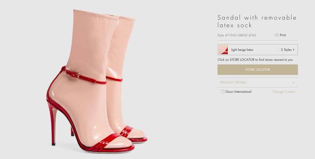 Sandal tất nhựa giá 32 triệu có quá đắt