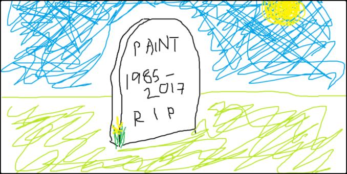 Huyền thoại paint bị microsoft khai tử sau 32 năm