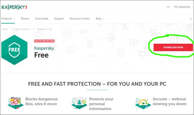 Kaspersky lab cho ra mắt phần mềm anti-virus free